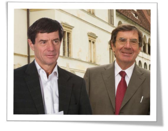 Univ.-Prof. Dr. Reinhold Kerbl; Univ.-Prof. Dr. Wilhelm Müller